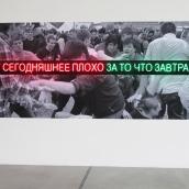 Сергей Братков. Пусть живет сегодняшнее плохо, за то, чтоб завтра было хорошо, 2010. Печать на самок